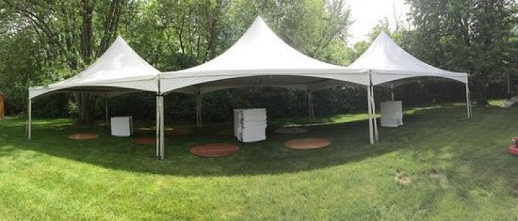 20' x 60' High Peak Frame Tent