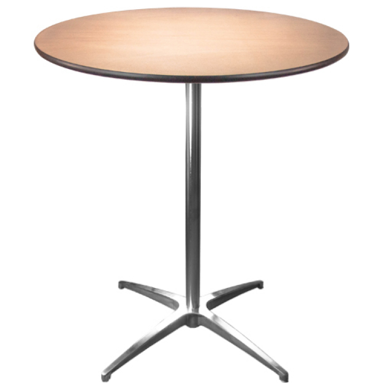 36 Round Standing Height Cocktail Table